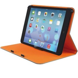 Trust 19842 Aeroo Ultrathin Folio Stand iPad Mini Gri-Turuncu