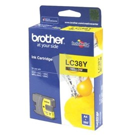 BROTHER LC-38Y Sarı Kartuş DCP-165C DCP-375CW MFC-255CW MFC-290C DCP-195C