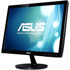 "Asus VS197NE 18.5"" 5ms HD D-Sub DVI Led Siyah Monitör"