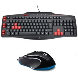 Logitech G300s Gaming Optik Mouse 910-004346 + Logitech G103 Gaming Klavye Q Türkçe 920-005205