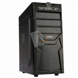 Power Boost VK-C022B 350W ATX Meshpanel Siyah Kasa