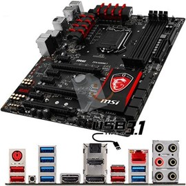 MSI Z97A GAMING 7 DDR3 3300MHz HDMI DP M.2 USB 3.1 16x Lga1150