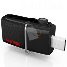 SanDisk SDDD2-064G-G46 Ultra Dual Usb 3.0 64GB Micro Usb OTG Flash Bellek