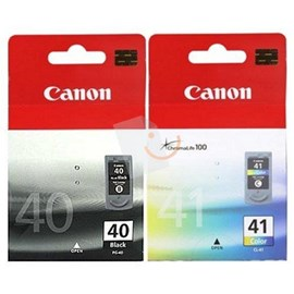 Canon Pg-40 CL-41 Multipack Kartuş IP1300 MP140 MX310 IP2600