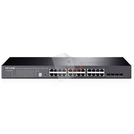 Tp-Link T1700G-28TQ JetStream 24-Port Gigabit Stackable Smart Switch (4 adet 10GE SFP+ Slotlu)