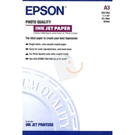 Epson C13S041068 Photo Quality Ink Jet Kağıt A3 100 Adet