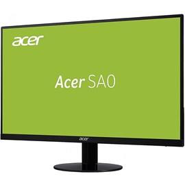 "Acer SA220Qbid 21.5"" 4ms ZeroFrame Full HD HDMI DVI D-Sub Siyah Led IPS Monitör"
