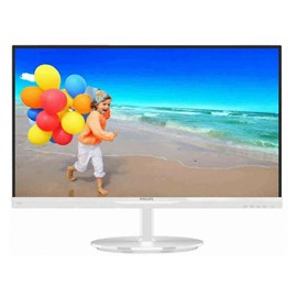 "Philips 224E5QSW/01 21.5"" Full HD D-Sub DVI AH-IPS Led Beyaz Monitör"
