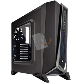 Corsair CC-9011084-WW Carbide Serisi SPEC-ALPHA Siyah/Gümüş Gaming Mid-Tower PSUsuz Kasa