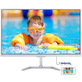 Philips 276E7QDSW/00 27 14ms Full HD DVI-D MHL-HDMI PLS Beyaz W-Led Monitör