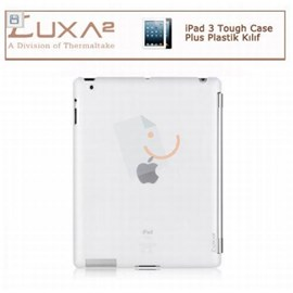 LUXA2 LX-LHA0063-A  iPad 3 Tough Case Plus Plastik Kılıf - Beyaz