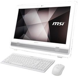 "MSI PRO 22E 7NC-077XTR Beyaz Core i5-7400 4GB 1TB G930MX 2GB 21.5"" Full HD FreeDOS"