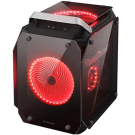 Gamepower Helios Tempered Glass Gaming Mid PSUsuz E-ATX Kasa