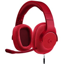 Logitech G433 Surround 7.1 Gaming Kulaklık Fire Red 981-000652