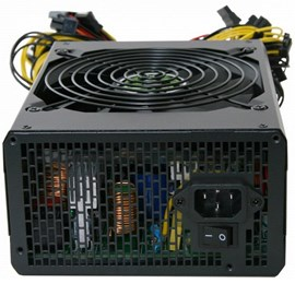 Gamepower GM-1350 APFC 14cm 80+ Gold 1350W PSU
