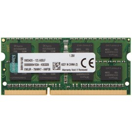 Kingston KVR16LS11/4 4GB 1600MHz DDR3L CL11 SODIMM