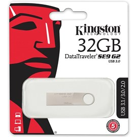 Kingston DTSE9G2/32GB DataTraveler SE9 G2 3.0 32GB Metal Usb 3.0 Bellek