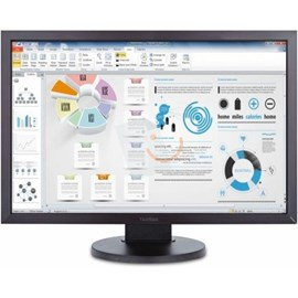 "Viewsonic VG2438SM 24"" 5ms Full HD DVI DP Pivot Led PLS Monitör"