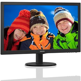 "Philips 243V5LHAB5/00 23.6"" 1ms Full HD HDMI DVI Hoparlör Gaming Led Monitör"