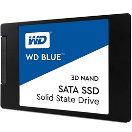 "Western Digital WDS250G2B0A Blue 3D NAND SATA SSD 250GB 2.5"" 7mm 550/525Mb"