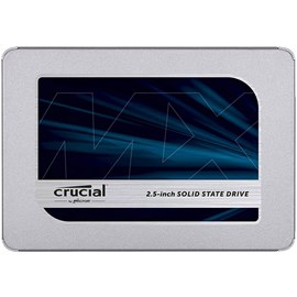 "Crucial CT500MX500SSD1 MX500 500GB 2.5"" SATA3 SSD 560/510MB 7mm"