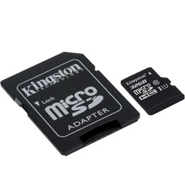 Kingston SDCS/32GB Canvas Select™ microSDHC 32GB C10 UHS-I Bellek Kartı 80MB/sn