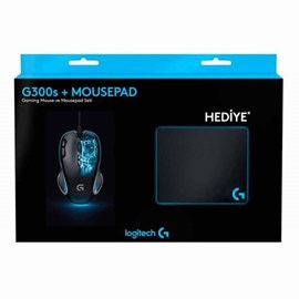 Logitech G300s Gaming Optik Mouse 910-004346 ve Mousepad (Hediyeli)