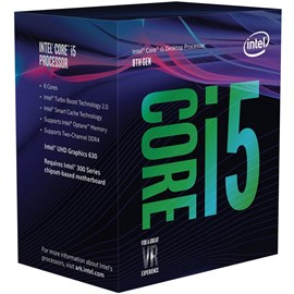 Intel Core i5-8500 Coffee Lake 4.10GHz 9MB UHD 630 Vga Lga1151 İşlemci