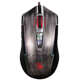 Bloody P93 Light Strike 5K RGB Optik Oyuncu Mouse Gri