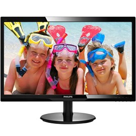 "Philips 246V5LDSB/01 24"" 1ms Full HD HDMI DVI Led Siyah Monitör"