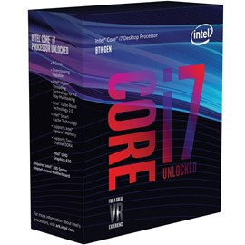 Intel Core i7-8086K Coffee Lake 5.0GHz 12MB UHD 630 Lga1151 İşlemci
