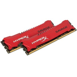 HyperX HX318C9SRK2/8 Savage Red 8GB (2x4GB) DDR3 1866MHz CL9 XMP Dual Kit