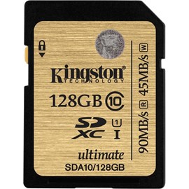 Kingston SDA10/128GB 128GB Class 10 UHS-I SDXC 90/45MB/s Bellek Kartı