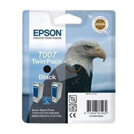 Epson C13T00740220 Twin Pack Siyah Kartuş 890 900 1270 1290