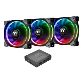 Thermaltake Riing Plus 3x140mm RGB Fan Kontrollü Kasa ve Radyatör Fanı