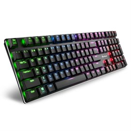Sharkoon PureWriter RGB Red Switch Q ENG Gaming Klavye