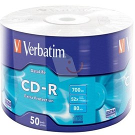 Verbatim 43787 CD-R 52x Extra Protection 700MB 50 Li Spindle