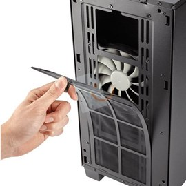 Corsair CC-9011081-WW Clear 400C Compact Mid-Tower E-ATX Psu'suz Siyah Kasa