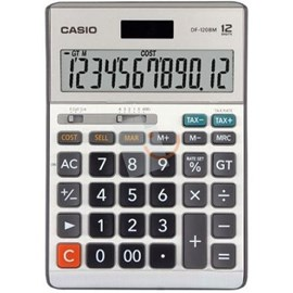 Casio MS-120BM-W-DP(PH) 12 Hane Mini Masaüstü Hesap Makinesi