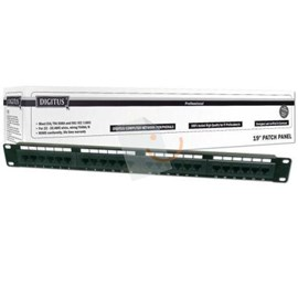 Digitus DN-91524U 19Inch 24 Port UTP Cat-5E Patch Panel