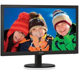 "Philips 223V5LSB2/62 21.5"" 5ms Full HD D-Sub Led Monitör"