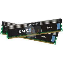 Corsair XMS3 CMX8GX3M2A1600C9 8GB (2x4GB) DDR3 1600Mhz CL9 Dual Kit