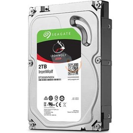 "Seagate ST2000VN004 IronWolf 2TB 64MB 5900Rpm 3.5"" SATA 3 NAS 180MB/s"