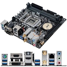 Asus H170I-PLUS D3 DDR3 M.2 HDMI DVI DP 16x Lga1151 Mini ITX