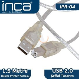 INCA IPR-04 1.5 Metre Usb2.0 Printer Kablosu Blister