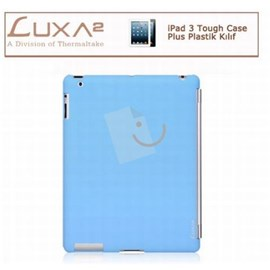LUXA2 LX-LHA0063-B iPad 3 Tough Case Plus Plastik Kılıf - Mavi
