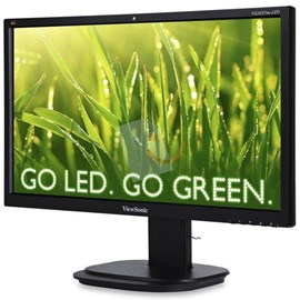 "Viewsonic VG2437mc-LED 24"" 5ms Full HD D-Sub DVI DP Usb Webcam Led Monitör"