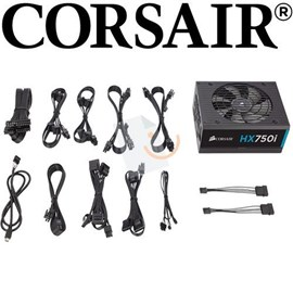 Corsair CP-9020072-EU HXi Series HX750i 750W 80 Plus Platinum Modüler PSU