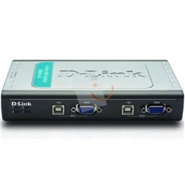 D-Link DKVM-4U 4Port Klavye Mouse VGA Switch