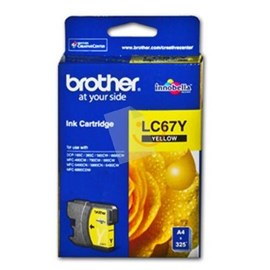 BROTHER LC67Y Sarı Kartuş DCP-385C MFC-790CW MFC-5490CN MFC-6490CW MFC-6890CW